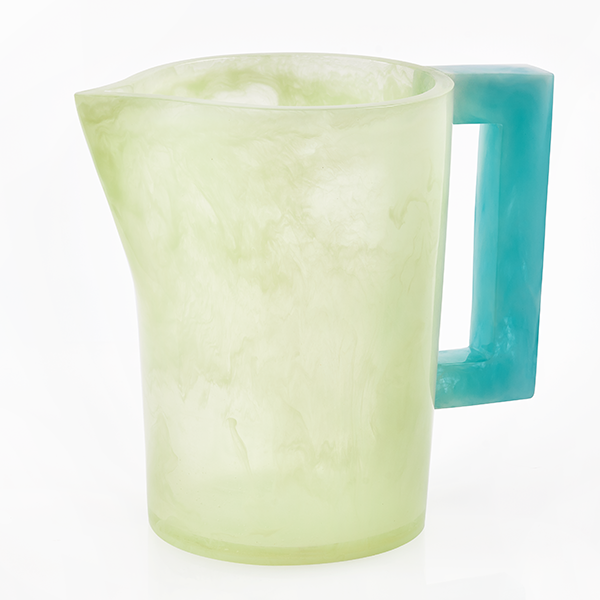Celadon with Blue Handle
